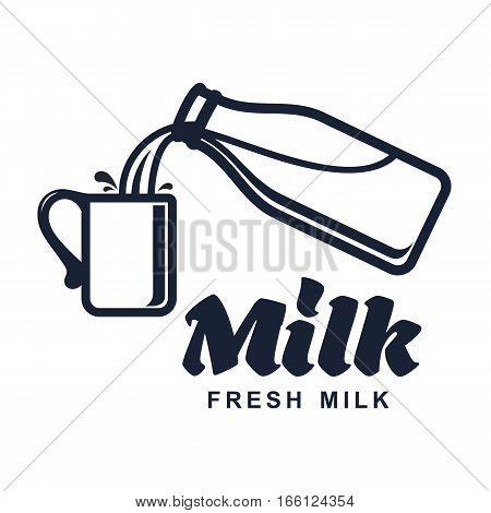 Milk Vector Logo
