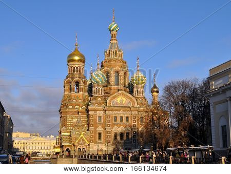 St Petersburg The Church of Our Savior on Spilled Blood