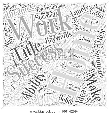 How To Make Working From Home A Success Word Cloud Concept