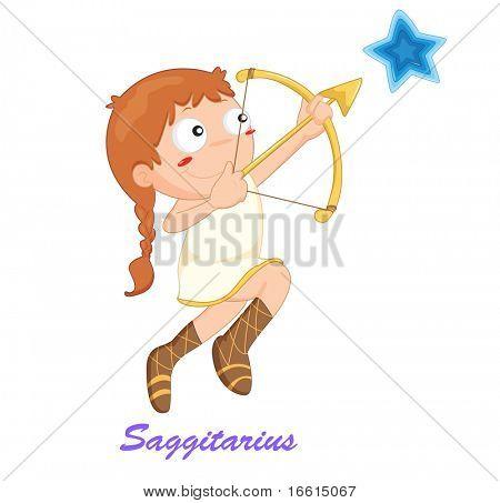 saggitarius star sign from series 1