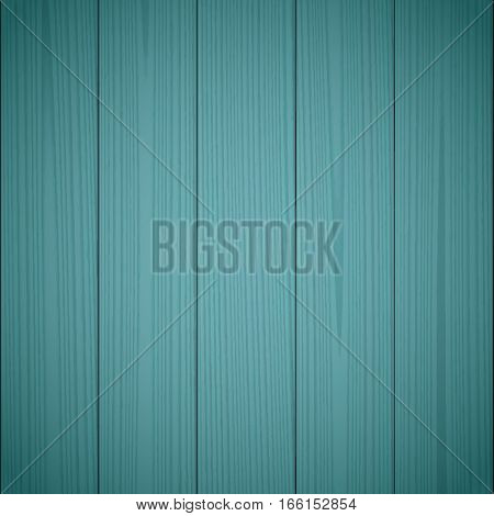 Dark green wood texture background. Wooden surface grained table floor. Graphic design element for scrapbooking presentation web page background. Realistic vector illustration.