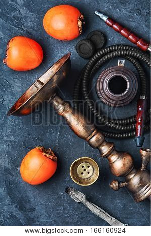Hookah With Persimmon