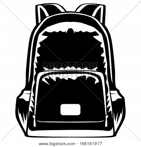 Back Pack Isolated On White