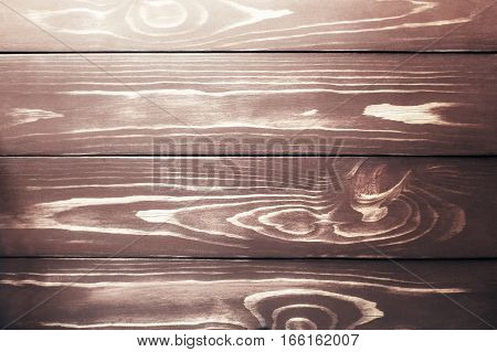 old big wooden background with a vignetting