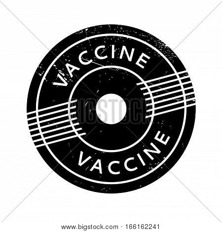 Vaccine rubber stamp. Grunge design with dust scratches. Effects can be easily removed for a clean, crisp look. Color is easily changed.
