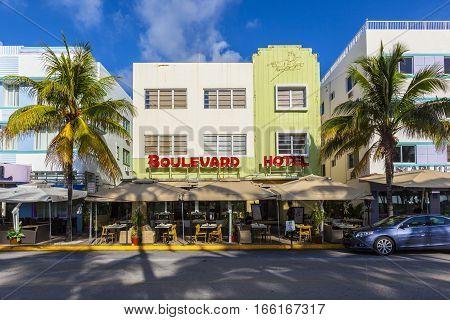 The Boulevard Hotelat Ocean Drive