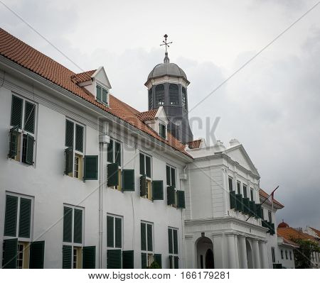 Kota Tua Museum Building as on of local heritage photo taken in Jakarta Indonesia java