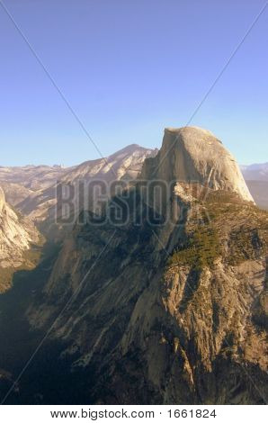 Glacier Point View Of Half Dome