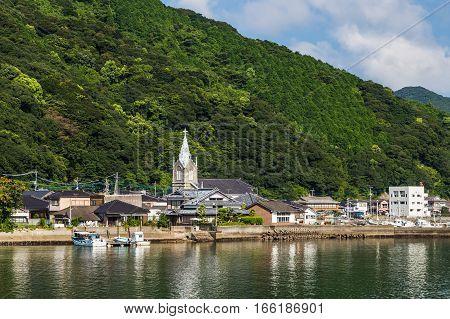 Sakitsu Church In Amakusa , Kyushu, Japan