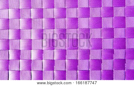 purple textile texture to background close up.