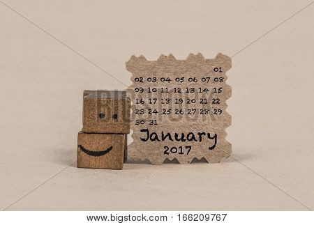 Calendar For January 2017
