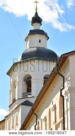 Church of the Archangel Gabriel in Kirillo-Belozersky monastery near City Kirillov Vologda region Russia.