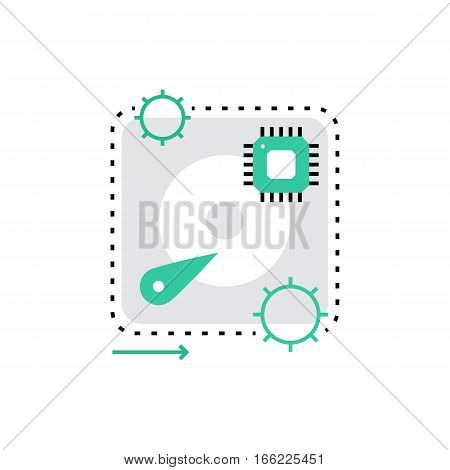 Hardware Monoflat Icon