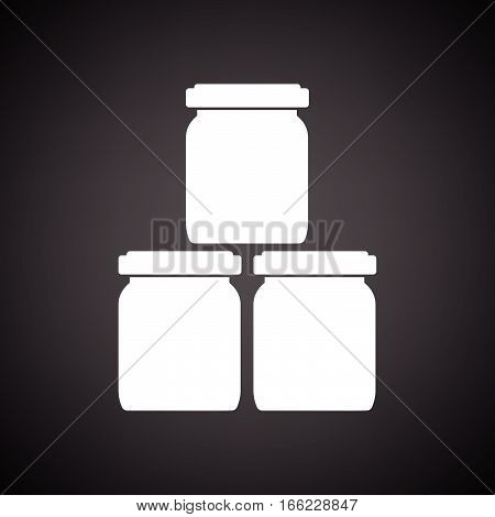 Baby Glass Jars Icon