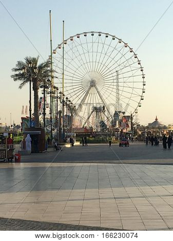 Global Village in Dubai, UAE, as seen on Jan 11, 2017. The Global Village is claimed to be the world's largest tourism, leisure and entertainment project.