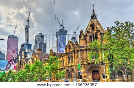 The Former Magistrates Court in Melbourne - Australia, Victoria