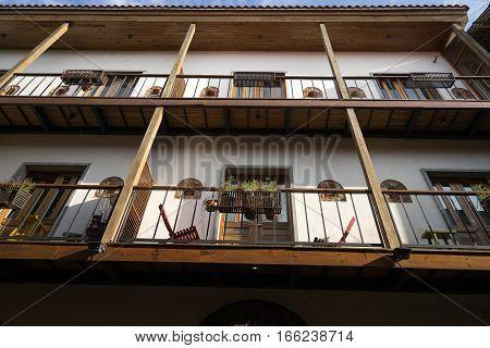 colonial architecture in Casco VIejo Panama City