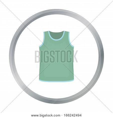Singlet icon of vector illustration for web and mobile design - stock vector