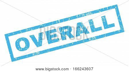 Overall text rubber seal stamp watermark. Caption inside rectangular shape with grunge design and dust texture. Inclined vector blue ink emblem on a white background.