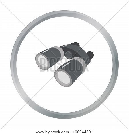Binoculars icon of vector illustration for web and mobile design - stock vector