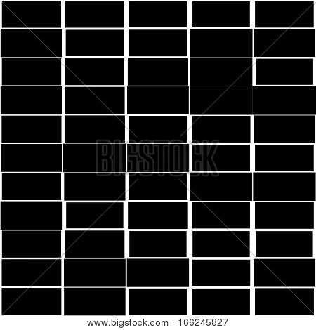 Mosaic Pattern With Random Rectangles – Irregular Texture, Backdrop