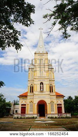 Catholic Church In Mekong Delta, Vietnam