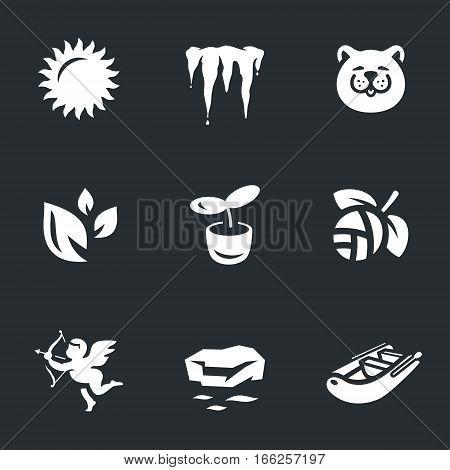 Sun, icicles, cat, petals, sprouts, kidney, cupid, break-up, boat.