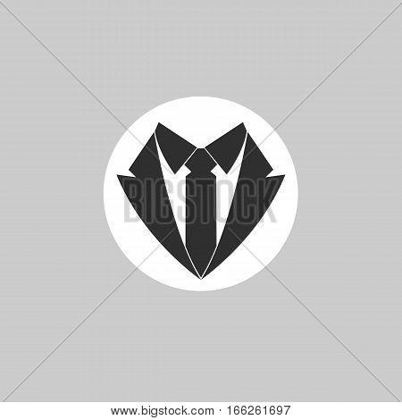 Suit Tie Icon. Butler Vector \u0026 Photo (Free Trial)