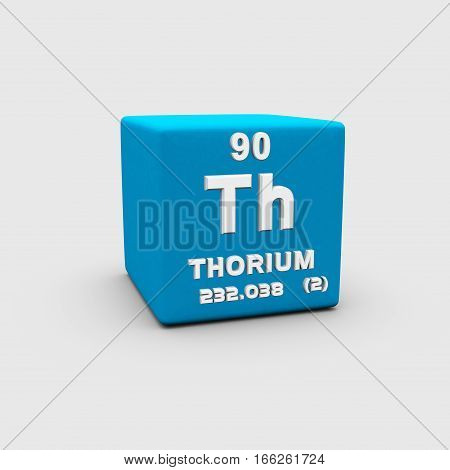 Thorium is a chemical element with symbol Th and atomic number 90.
