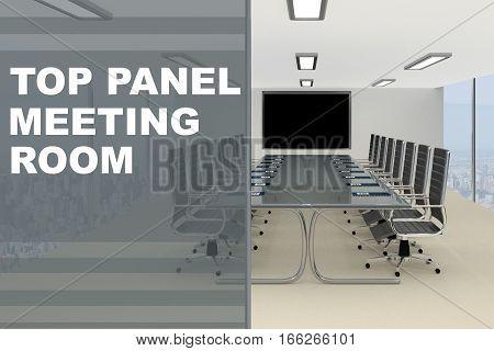 Top Panel Meeting Room Concept