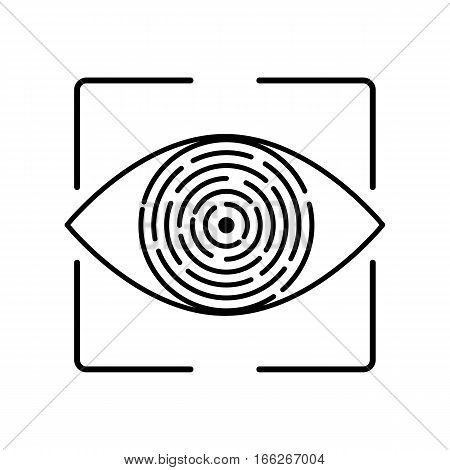 Iris Recognition Biometric Identification