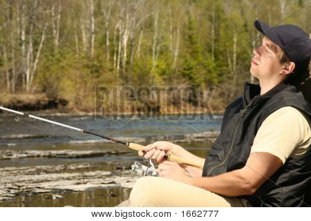 Absolutely Relaxed Fisherman
