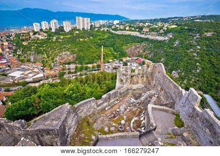 City Of Rijeka View From Trsat