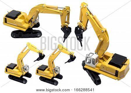 Engineering Construction car drill machine broken drill truck, drilling machine