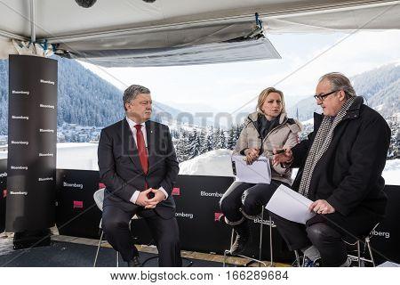 Interview With President Of Ukraine Petro Poroshenko