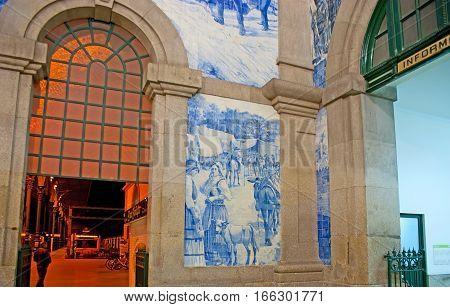 The Azulejo Panels In Interior