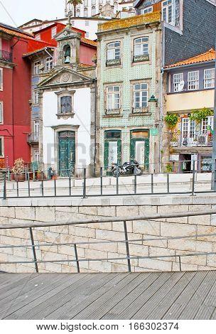 On Embankment Of Porto
