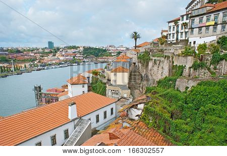 The Cityscape Of Porto