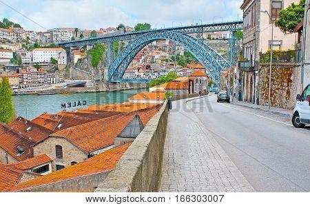 The Landmarks Of Porto