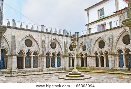 The Courtyard Of Se Cathedral