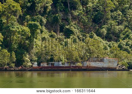 HMAS Parramatta was a River-class torpedo-boat destroyer of the Royal Australian Navy and now a wreck on the Hawkesbury River.