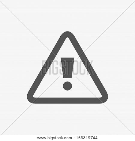 alert icon stock vector illustration flat design