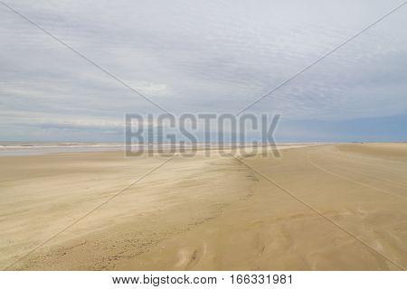 Storm Sky At Beach
