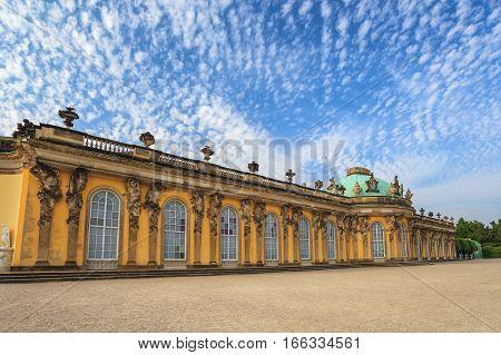Sanssouci palace park at Potsdam city, Germany