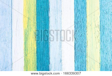 Wooden background and alternative construction material - Texture on multicolored wood panel in modern fashion clip art structure - Retro seamless backdrop pattern - Soft azure pastel filtered look