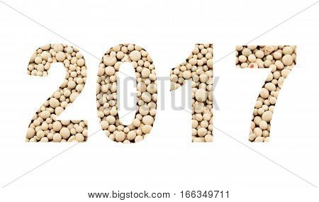 2017 From The Mineral Fertilizers, Isolated On White