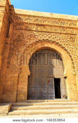 Entrance Door  The The Medina In Morocco Fes