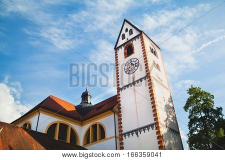 St Mang's Basilica In Fussen, Bavaria,  Germany