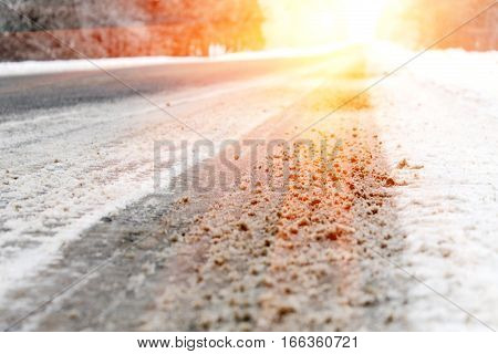 The Road Going To A Distance,  Solar Luminescence