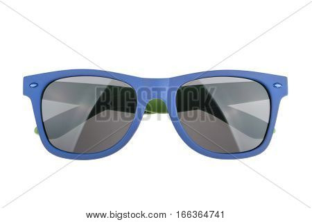 Sunglasses isolated against a white background. Without shadow